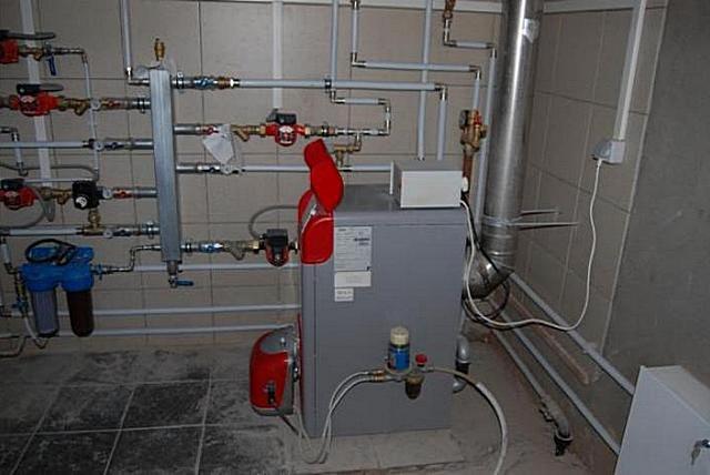 Установка газового котла в частном доме требования