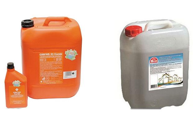 Существуют специальные составы с высоким уровнем биологической активности, которые добавляются в систему отопления для очистки