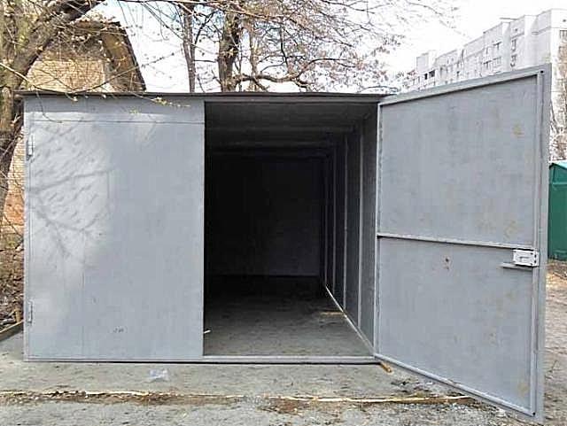 """Металлический гараж можно полностью построить самостоятельно- от """"А""""до """"Я"""""""