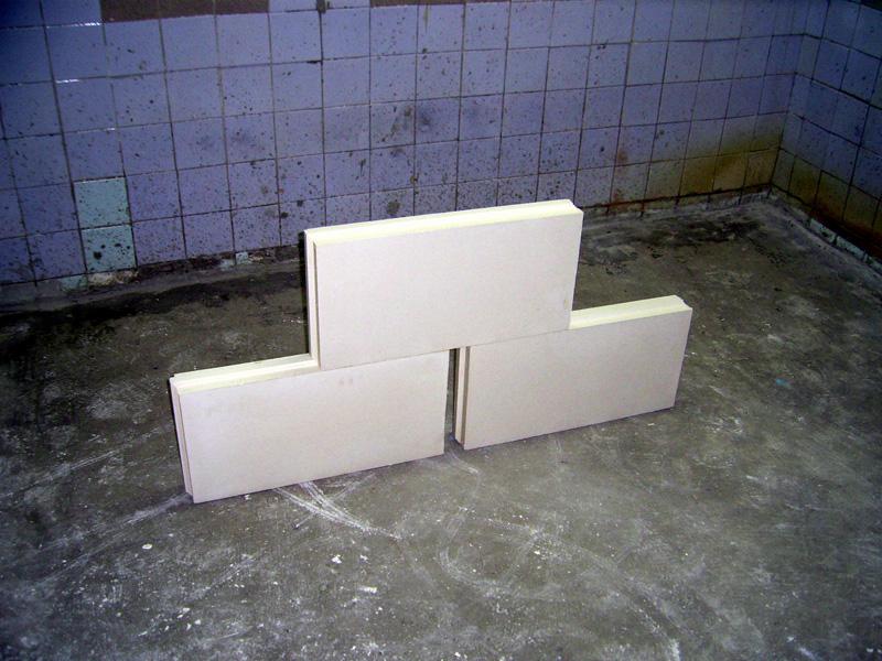 Гипсовые плиты для перегородок белые