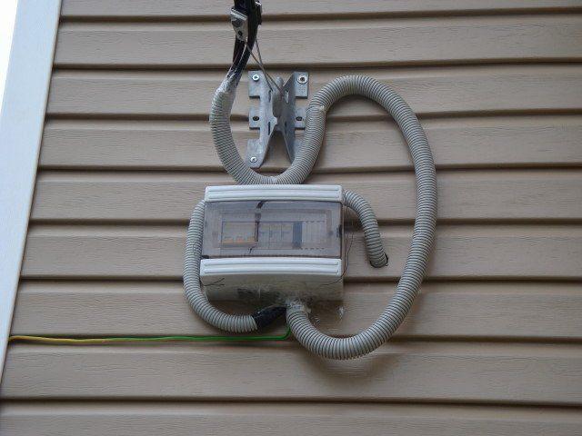 Дополнительный автомат защиты, вынесенный на фасад