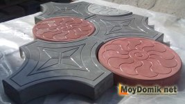 Вибролитая тротуарной плитки