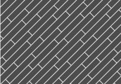 Укладка палуба - диагональная хаотичная