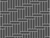Укладка елочкой - прямая с соотношением 3 к 1