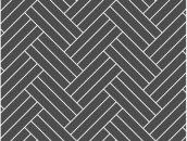 Укладка елочкой - тройная прямая