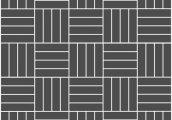 Укладка паркета квадратом - прямой из 4-х планок