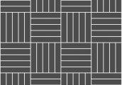 Квадрат прямой из 5-ти планок