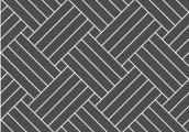 Плетенка диагональная четвертная