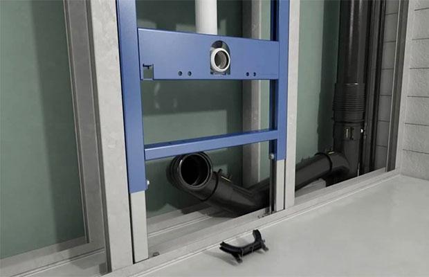 Инсталляция представляет собой металлический каркас, к которому крепятся основные механизмы