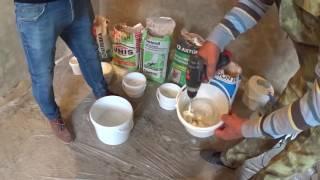 Шпаклевка стен под покраску. Сравнение финишных  шпаклевок Vetonit, PRONTO, Unis, Старатели, Axton