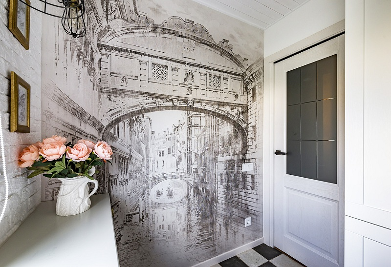 Пейзажи Венеции даже в чёрно-белом исполнении романтичные и манящие