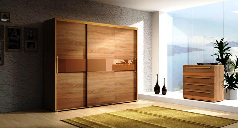 Дизайн шкафа-купе должен сочетаться с оформлением другой мебели