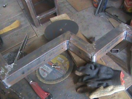 Сварочные работы при изготовлении котла