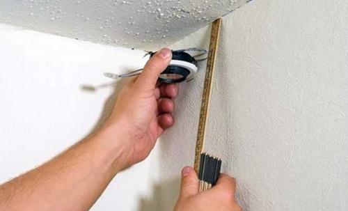 Замеры потолка для гипсокартона