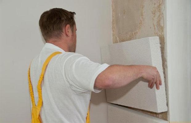 При строительстве и ремонте обычно используется пенополистирольный пенопласт
