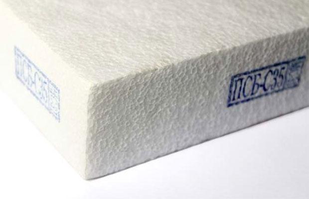 В маркировке пенопласта отражают его марку, плотность и, иногда, другие характеристики