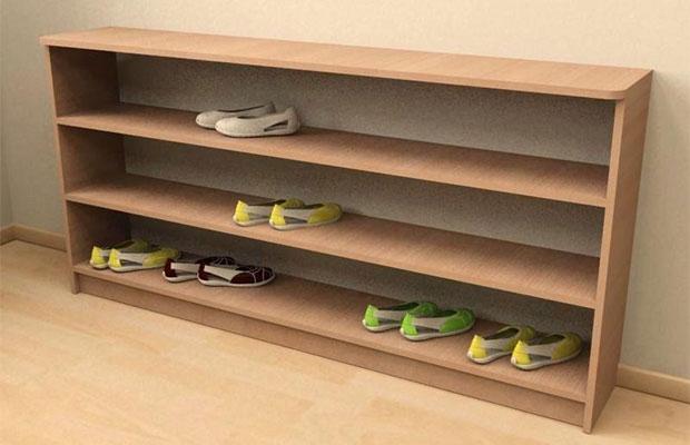 Один из простейших вариантов мебели для хранения обуви
