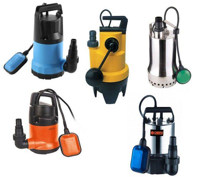 Дренажные насосы с поплавковым выключателем позволят автоматизировать отведение излишних дренажных вод