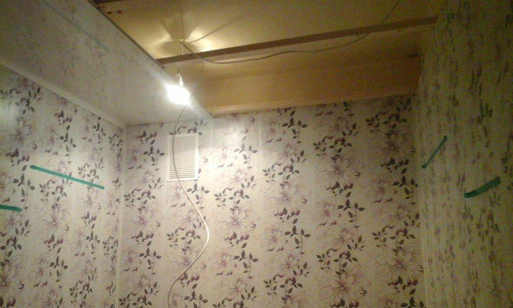 Обшиваем потолок