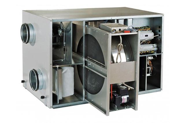 Вентиляционная установка с роторным рекуператором