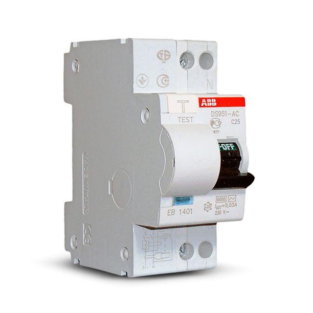 Дифференциальный автомат объединяет в себе функции УЗО и автоматического выключателя
