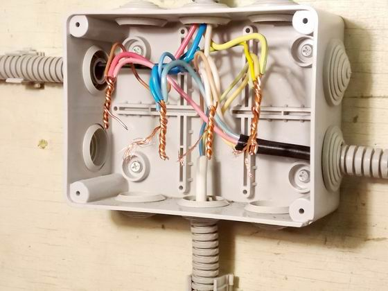 Как сделать скрутку проводов
