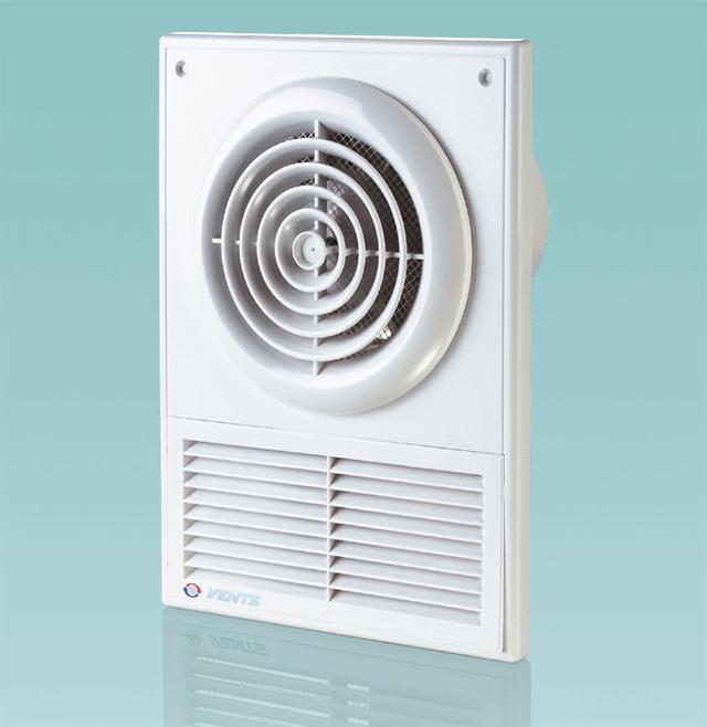Сдвоенная решетка со встроенным вентилятором - прекрасное компромиссное решение