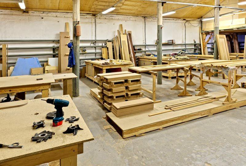 Цех по созданию мебели