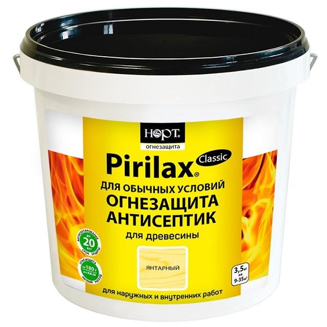 Антисептические огнезащитные составы марки «Пирилакс» отличаются очень длительным сроком действия