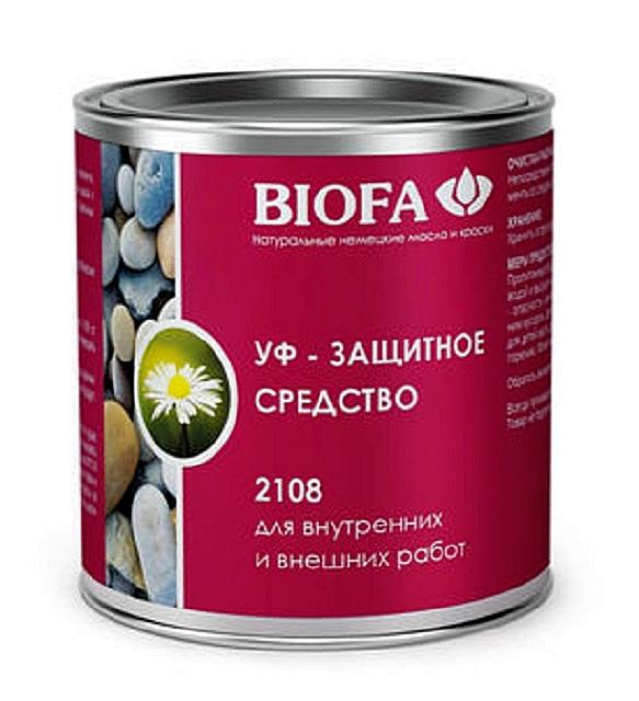 «Biofa 2108» — надежная защита от ультрафиолета с дополнительным гидрофобным эффектом за счет масляной основы.