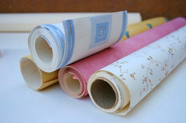 Бумажные обои постепенно вытесняются новыми современными типами