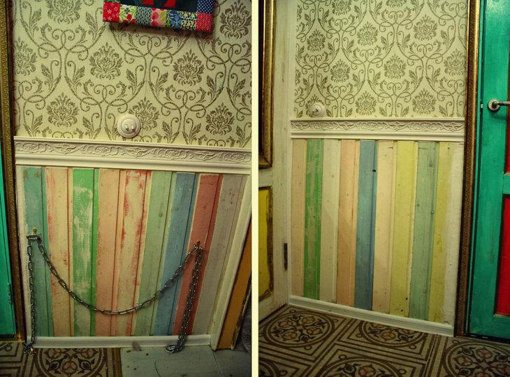 Чем красить вагонку внутри помещения