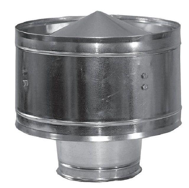 Дефлектор - выгоднее, так как он создает искусственное разрежение и повышает тягу