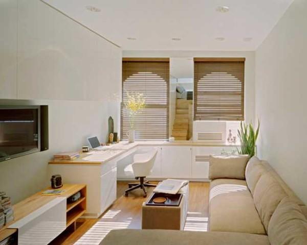 Для маленькой комнаты лучше выбирать светлые цвета для стен