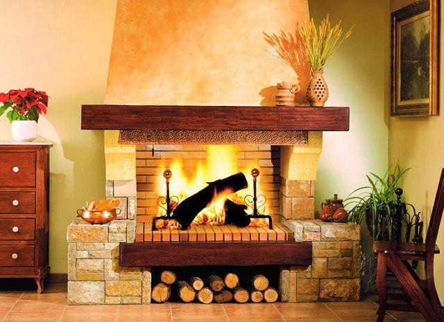 Настоящий дровяной камин для жителей многоэтажек - недоступная мечта