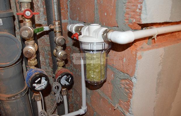 Подключение системы к водопроводу