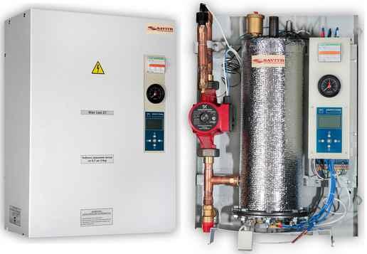 Электрический котел для систем теплоснабжения частных домов