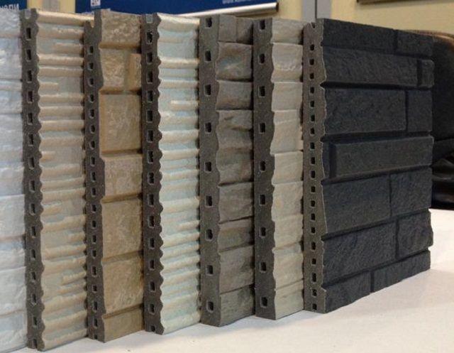 Фиброцементные панели с имитацией различным отделочных материалов