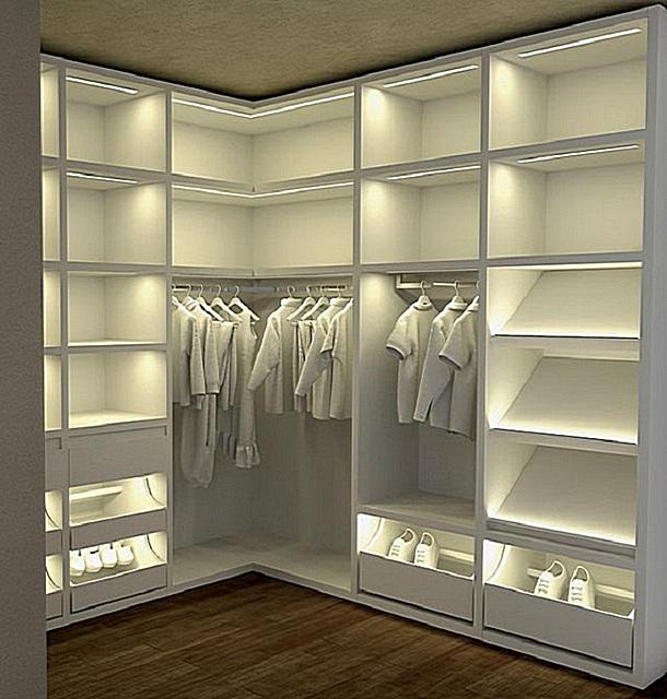 освещение внутри шкафа своими руками фото выглядят