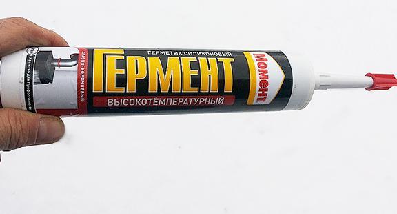 Высокотемпературный герметик для печей и каминов - делаем выбор