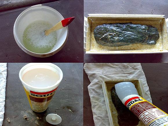 Как изготовить гипсовый камень