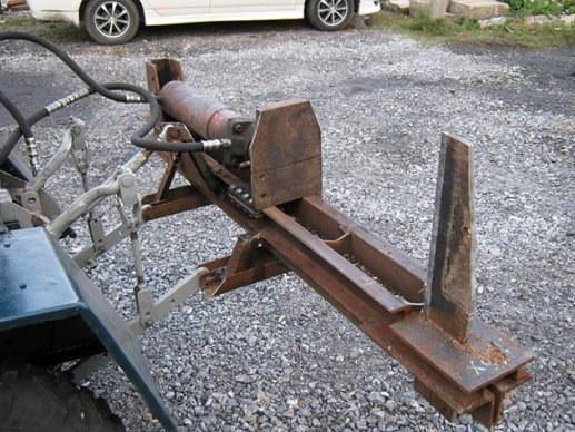 механический колун для древесины