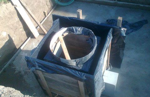 Гидроизоляция опалубки перед заливкой бетона