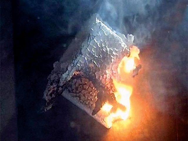 Назвать пенополистирол пожаробезопасным - никак не получится