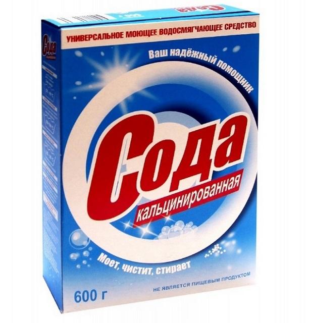 Стиральная или техническая сода — отличное универсальное средство для очистки поверхностей.