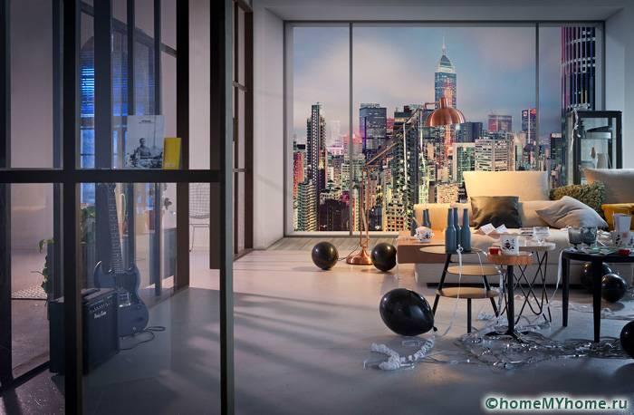 Многоэтажные здания на снимках создают панорамный вид и ощущение свободы