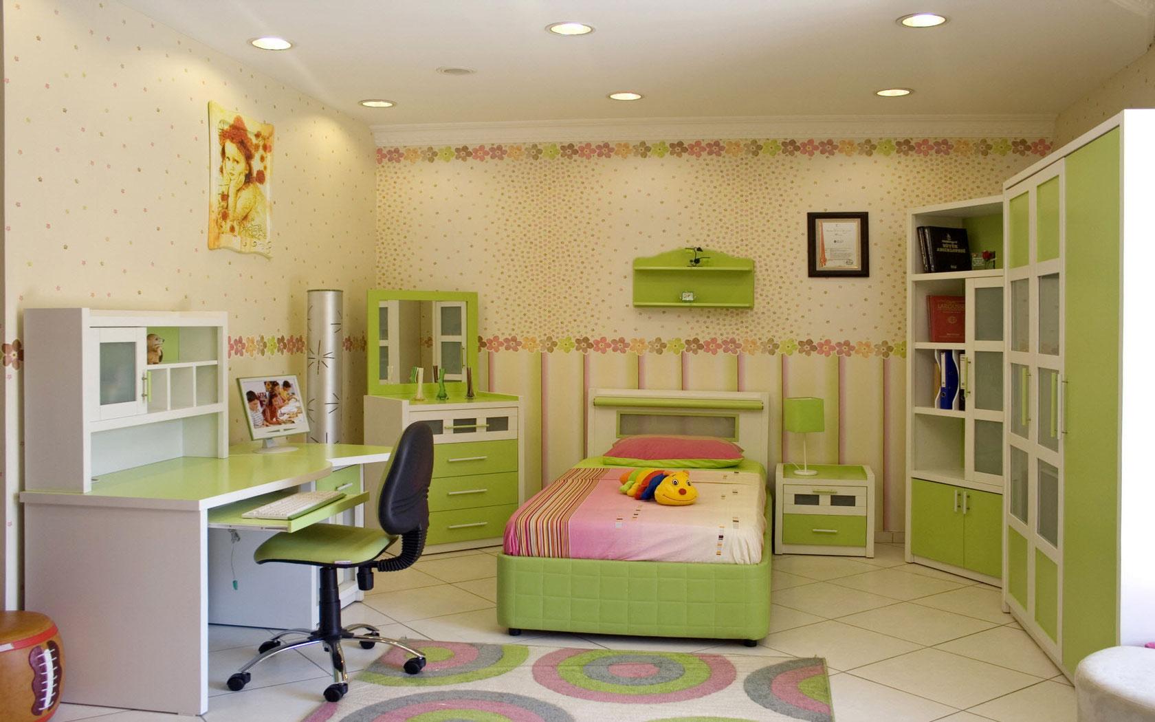 большая детская комната для ребенка фото
