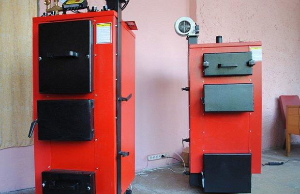 Фото агрегатов с верхним горением из листовой стали
