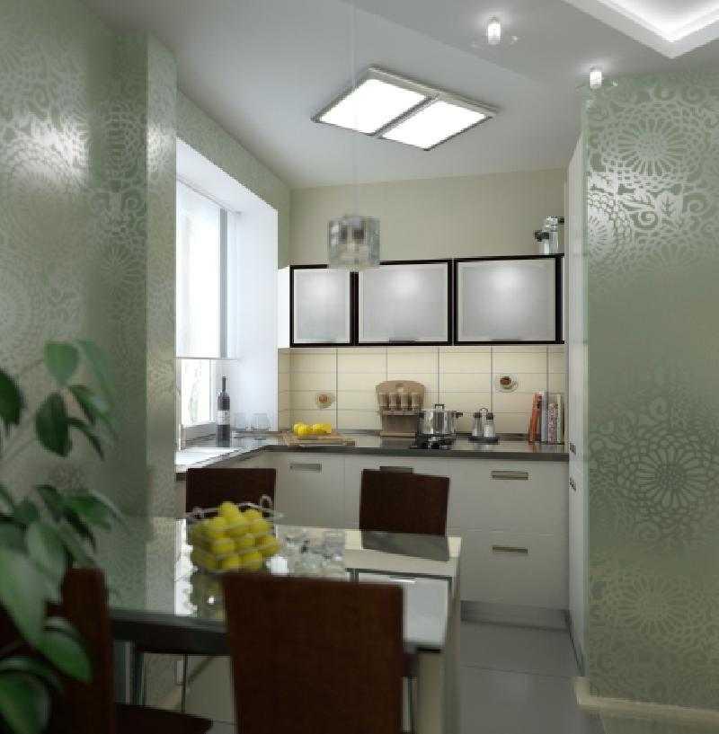 Стеклянные дверцы - способ сделать мебель более