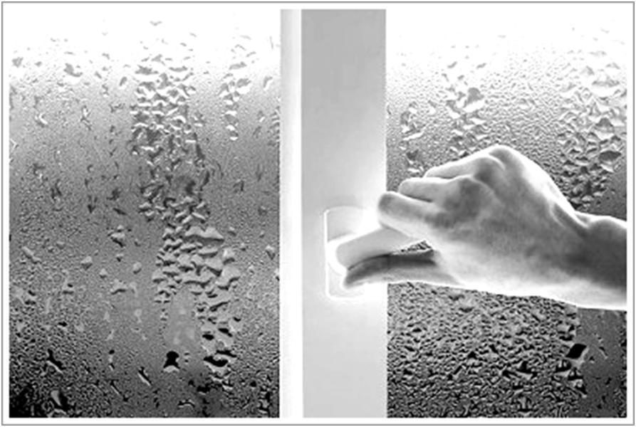 Образование конденсата на окне